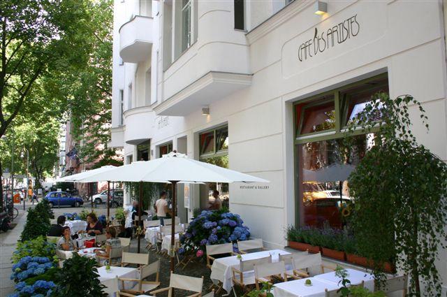 Fuggerstrasse Cafe - Aussenansicht