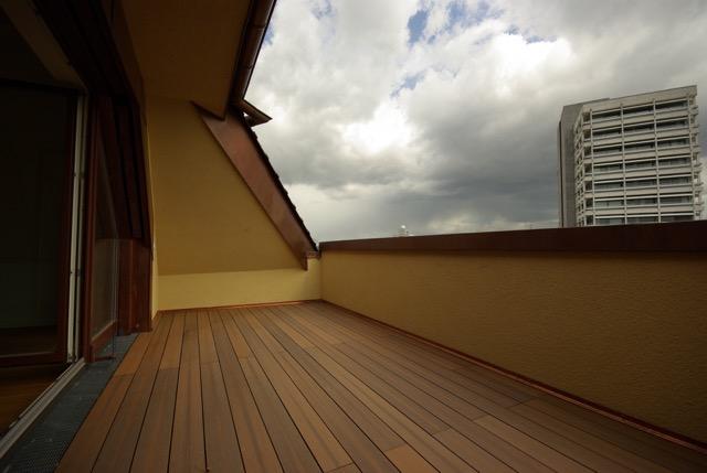 Ottilie-von-Hansemann-Haus Dachterrasse