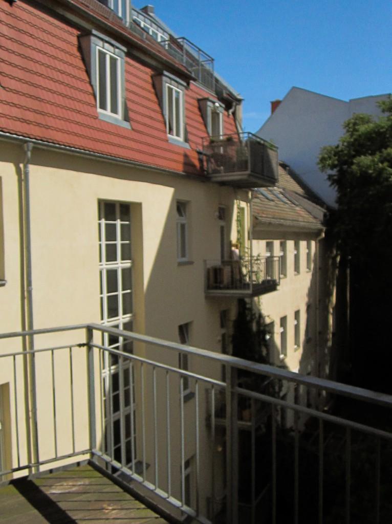 Linienstrasse Balkon