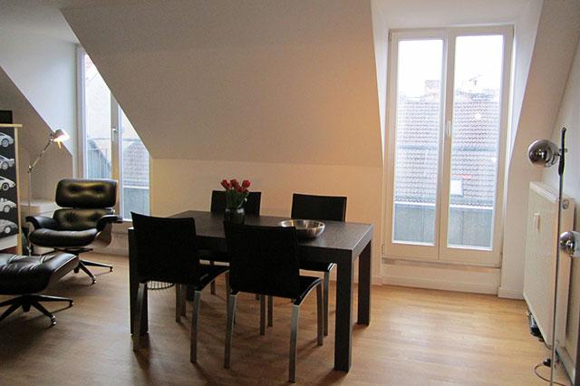 Linienstrasse 137 Wohnzimmer
