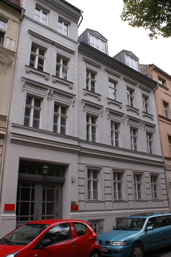 Sophienstraße 25 Hausansicht