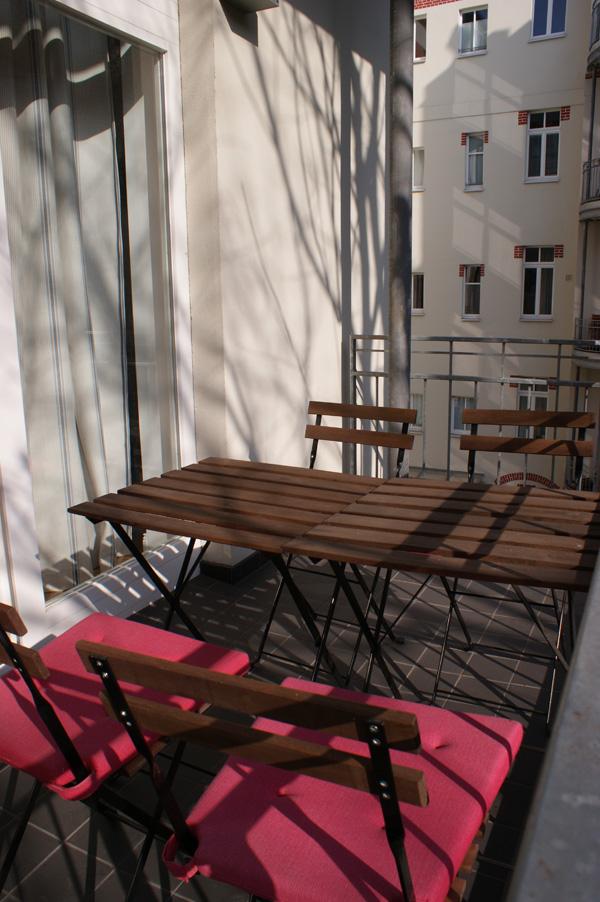 Uhlandstraße 45 Balkon