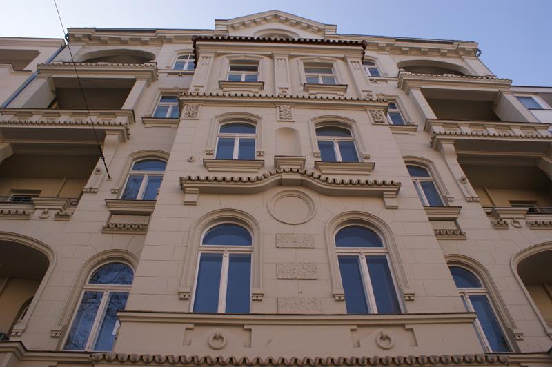 Uhlandstraße 45 Hausfassade